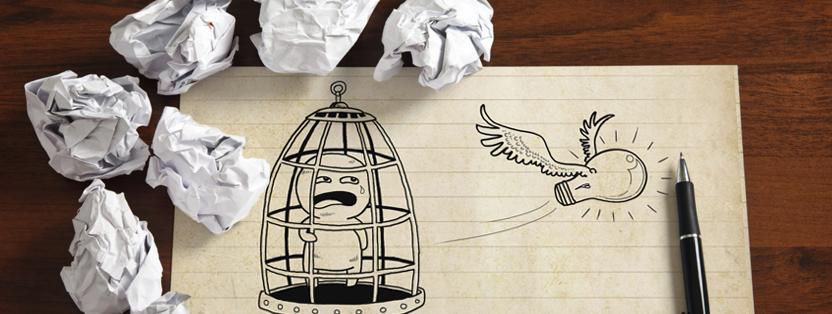 Como reagir quando acontece um bloqueio criativo?