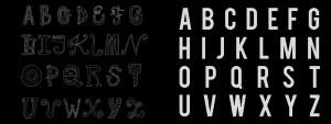 E aí: tipografia ou tipologia?