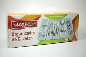 Embalagem - Organizador de Gaveta - Maxroll